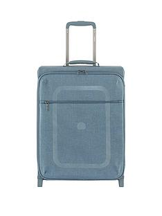 delsey-dauphine-55cm-4-wheel-slim-cabin-trolley-case