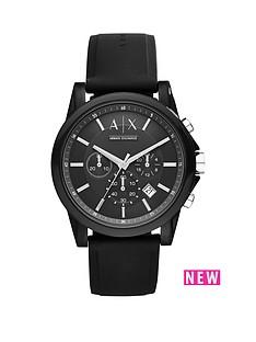armani-exchange-armani-exchange-black-dial-chronograph-black-silicone-strap-mens-watch