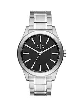 armani-exchange-black-dial-stainless-steel-bracelet-mens-watch