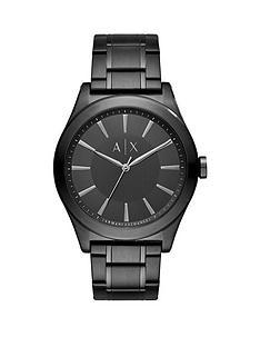 armani-exchange-black-dial-black-stainless-steel-bracelet-mens-watch