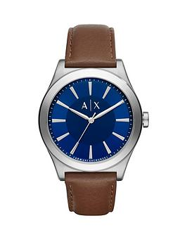 armani-exchange-blue-dial-brown-leather-strap-mens-watch