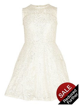 river-island-girls-gold-foil-lace-prom-dress