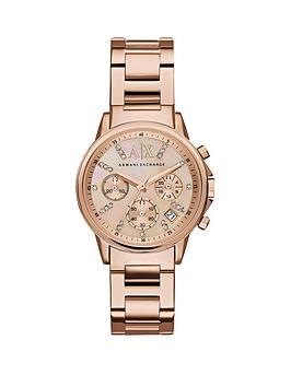 armani-exchange-armani-exchange-rose-tone-dial-chronograph-rose-tone-bracelet-ladies-watch