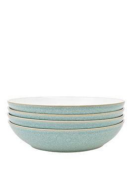 denby-elements-4-piece-pasta-bowl-set-green