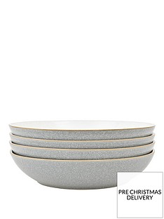 denby-elements-4-piece-pasta-bowl-set-light-grey