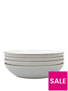 denby-elements-4-piece-pasta-bowl-set-light-grey