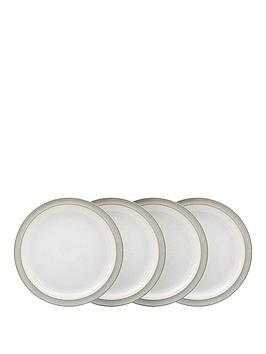 denby-elements-4-piece-dinner-plate-set-ndash-light-grey