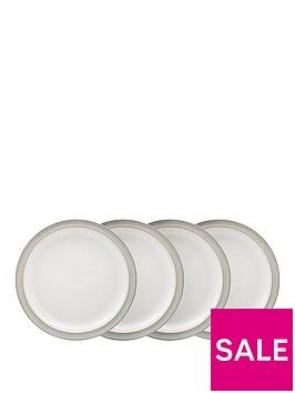 denby-elements-4-piece-dinner-plate-set-ndash-light-grey