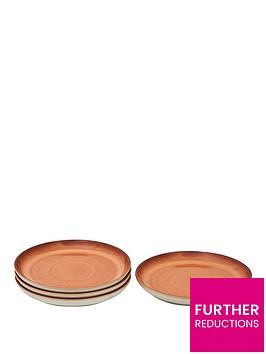 denby-always-entertaining-lsquotapasrsquo-ndash-set-of-4-medium-coupe-plates
