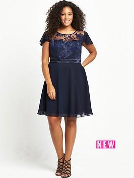 so-fabulous-curve-premium-lace-top-swing-dress-navybr-br