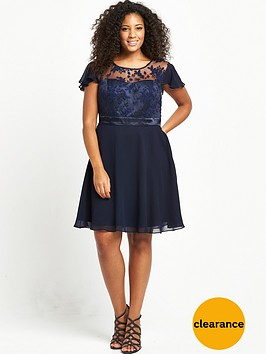 v-by-very-curve-curve-premium-lace-top-swing-dress-navybr-br