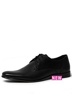 river-island-river-island-embossed-leather-shoe-black