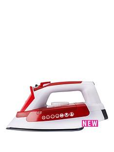 hoover-ironjet-til2200-steam-iron-redwhite