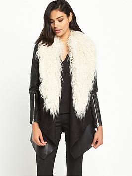 river-island-faux-fur-collarnbspfallaway-coat