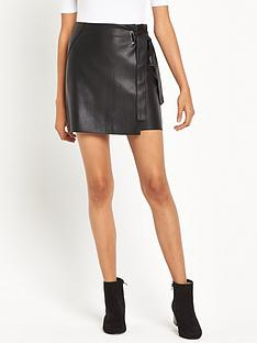 river-island-leather-look-mini-skirt