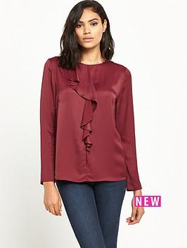 ri-studio-long-sleeve-frill-blouse
