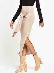 ri-studio-knitted-tie-waist-skirt