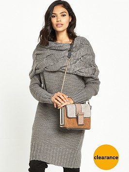 ri-studio-chunky-cable-knit-dress