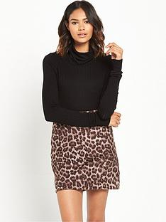 river-island-knitted-roll-neck-jumper