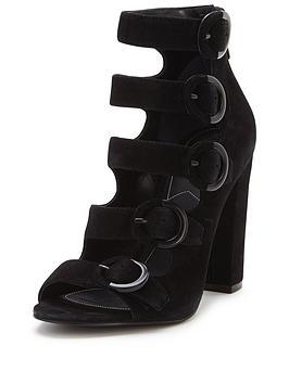kendall-kylie-evie-suede-multi-buckle-sandal