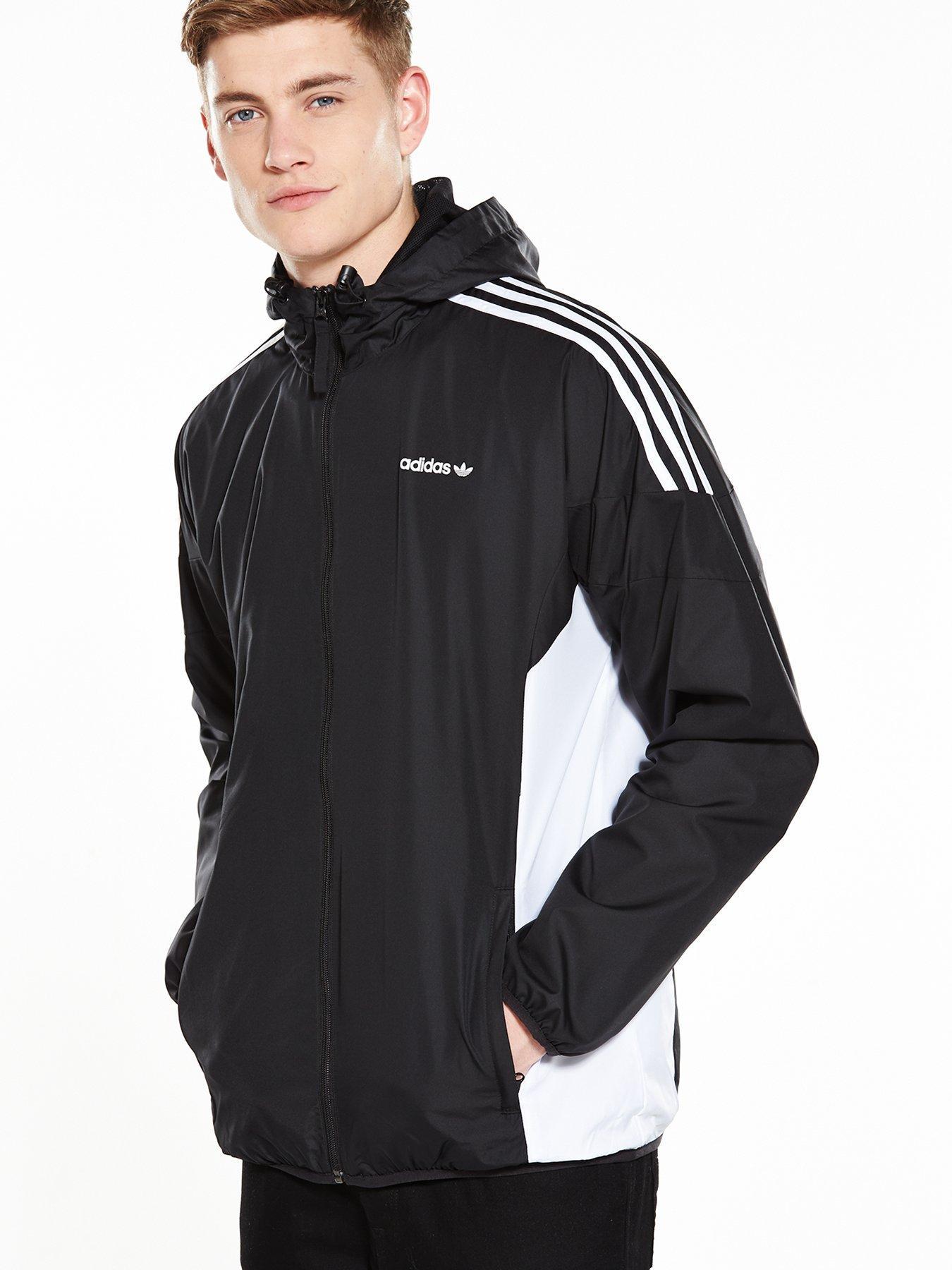 black adidas originals jacket