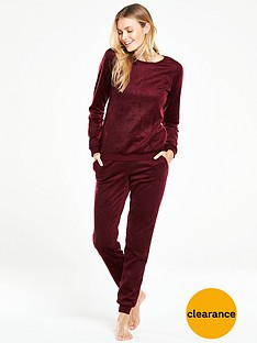 v-by-very-gift-wrapped-fleece-two-piece-pyjama-set