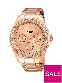 lorus-rose-gold-tone-multinbspdial-bracelet-ladies-watch