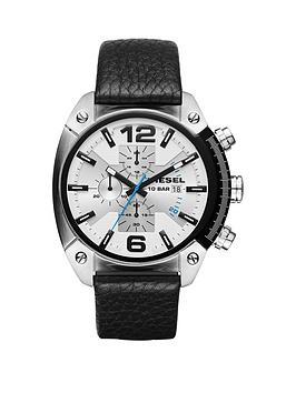 diesel-diesel-overflow-advanced-white-dial-chronograph-black-leather-strap-mens-watch