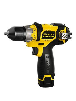 stanley-fatmax-108v-lithium-ion-drill-driver