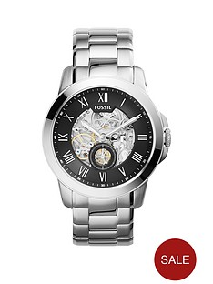 fossil-fossil-mechanical-grant-black-dial-stainless-steel-bracelet-mens-watch