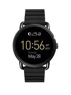 fossil-fossil-q-wander-display-dial-black-strap-smart-watch