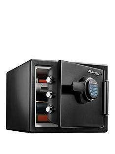 master-lock-large-security-digital-combination-safe-with-fire-and-water-protection