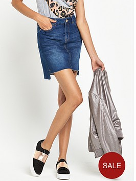 river-island-a-line-step-hem-denim-mini-skirt