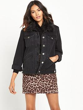 river-island-faux-fur-collar-denim-jacket