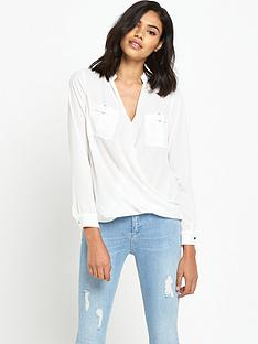 river-island-long-sleeve-military-blouse