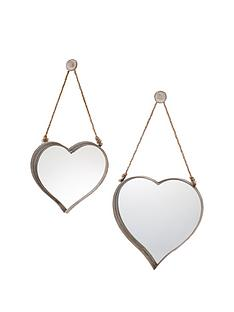 gallery-set-of-2-vintage-metal-heart-mirrors