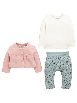 ladybird-baby-girls-3-pc-cardigan-tee-and-trouser-set