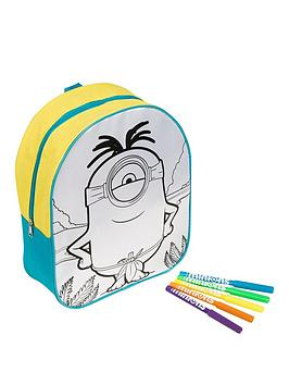 minions-colour-your-own-backpack