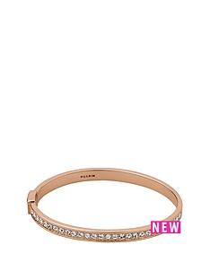 pilgrim-rose-gold-plated-crystal-set-bangle