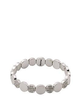 pilgrim-silver-plated-crystal-disc-stretch-bracelet