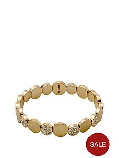 pilgrim-gold-plated-crystal-disc-stretch-bracelet