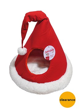cupid-comet-santas-hat-cat-bed