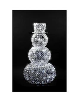 crystal-snowman