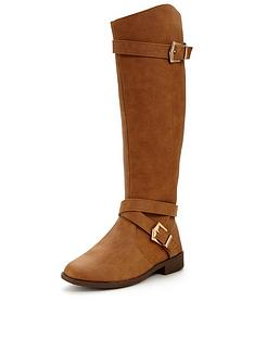 v-by-very-gertrude-knee-high-flat-riding-boot-tan