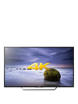 Sony Kd49Xd7005Bu 49 Inch, 4K Ultra Hd, Hdr, Freeview Hd, Android Smart Led Tv - Black