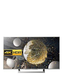 Sony Kd43Xd8077Su 43 Inch, 4K Ultra Hd, Hdr, Android Smart Led Tv - Silver
