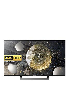Sony Kd49Xd8088Bu 49 Inch, 4K Ultra Hd, Hdr, Android Smart Led Tv - Black