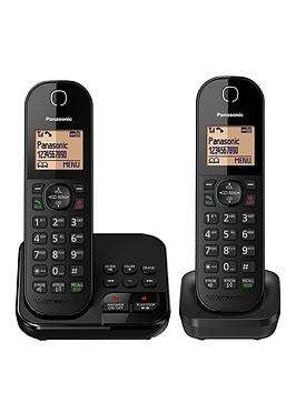 Panasonic Kx-Tgc422Eb - Twin