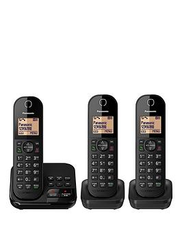 panasonic-kx-tgc423eb-cordless-telephones-triple-pack