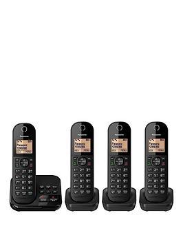 Panasonic Kx-Tgc424Eb - Quad